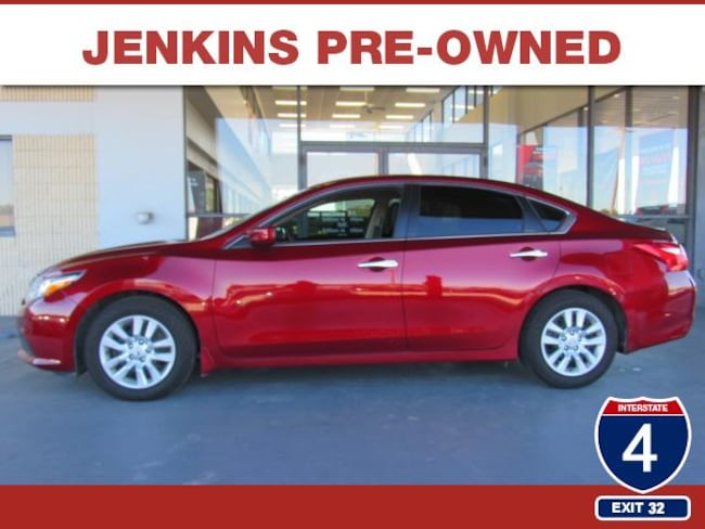 Certified Pre-Owned 2017 Nissan Altima 2.5 S Sedan in Lakeland, FL