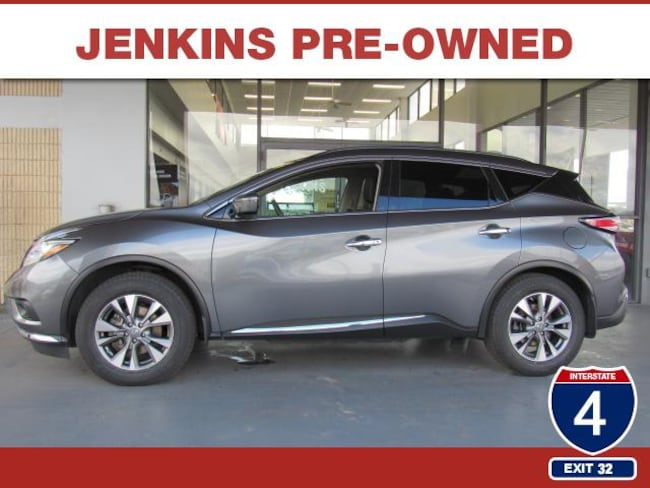 Certified Pre-Owned 2015 Nissan Murano S SUV in Lakeland, FL