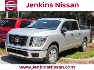 New 2019 Nissan Titan SV Truck Crew Cab in Lakeland, FL