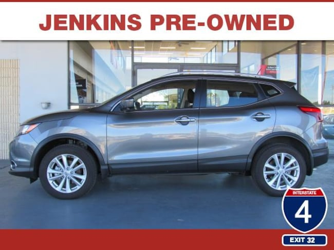 Certified Pre-Owned 2018 Nissan Rogue Sport SV SUV in Lakeland, FL