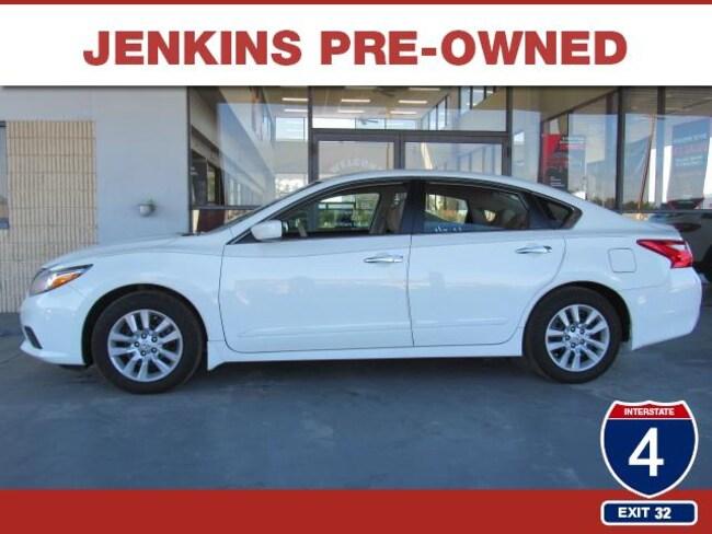 Certified Pre-Owned 2017 Nissan Altima 2.5 S Sedan in Lakeland, FL