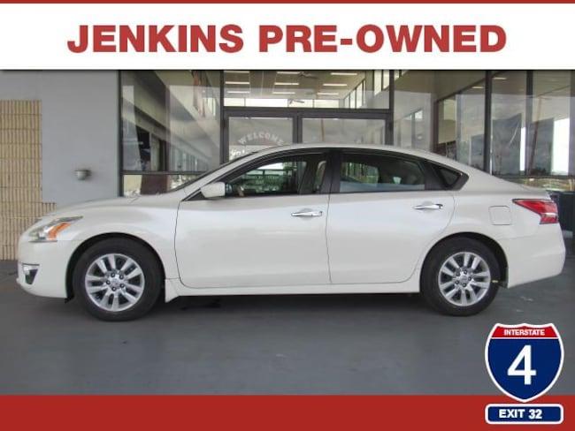 Certified Pre-Owned 2015 Nissan Altima 2.5 S Sedan in Lakeland, FL