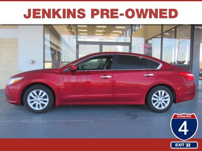 Certified Pre-Owned 2016 Nissan Altima 2.5 S Sedan in Lakeland, FL