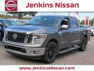 New 2018 Nissan Titan SL Truck Crew Cab in Lakeland, FL