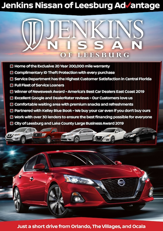 Perfect Nissan Jenkins Nissan Leesburg Fl Get the inside scoop on jobs, salaries, top office locations, and uncover why jenkins nissan is the best company for you. perfect nissan blogger