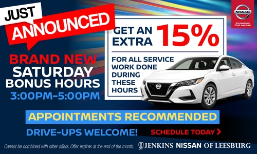 Nissan Service Specials Service Offers In Leesburg Fl Projects can opt in to use the schedule to prevent them from. nissan service specials service