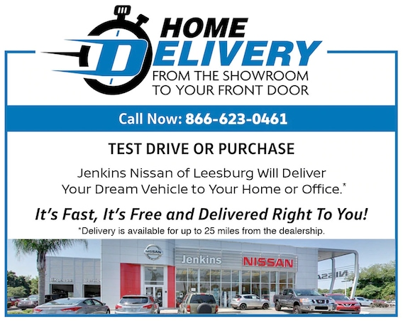 Nissan Home Delivery Near Eustis Fl Buy A Car Online This is the second car we have bought at jenkins nissan and the experience was very professional. nissan home delivery near eustis fl