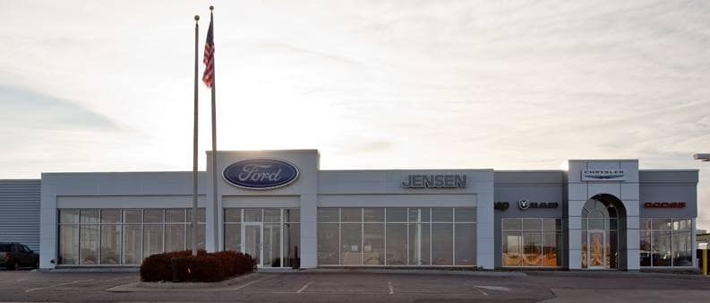 sioux city le mars ia car dealer about jensen dealerships. Black Bedroom Furniture Sets. Home Design Ideas