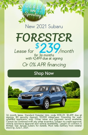 New 2021 Subaru Forester- May Offer