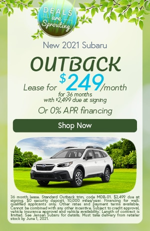 New 2021 Subaru Outback- May Offer