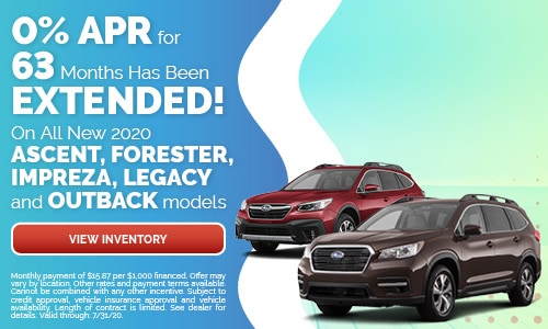 0% APR for 63 Months Has Been Extended!