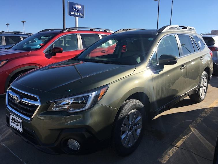 New 2019 Subaru Outback 2.5i Premium SUV in Sioux City, IA