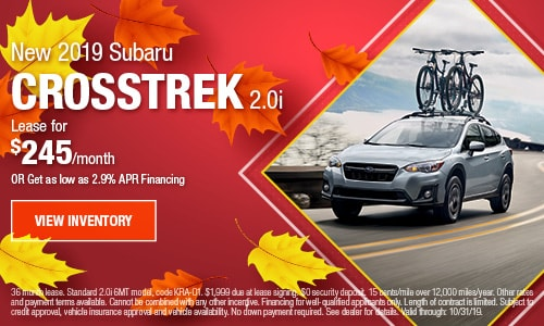 2019 Subaru Crosstrek - October