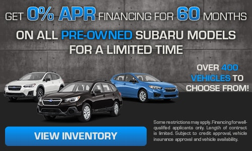 Get 0% APR Financing for 60 months