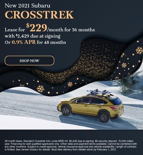 New 2021 Subaru Crosstrek - January Special