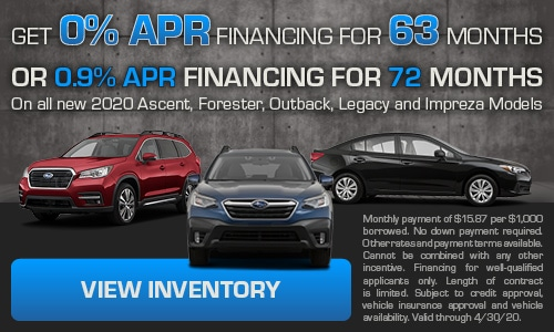 Get 0% APR Financing for 63 months Or 0.9% APR Financing for 72 months