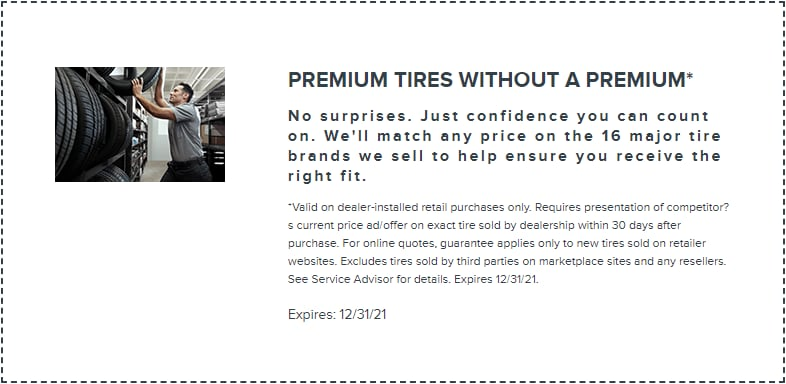 Premium Tires Offer