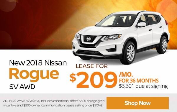 New Car Specials U0026 Nissan Lease Deals