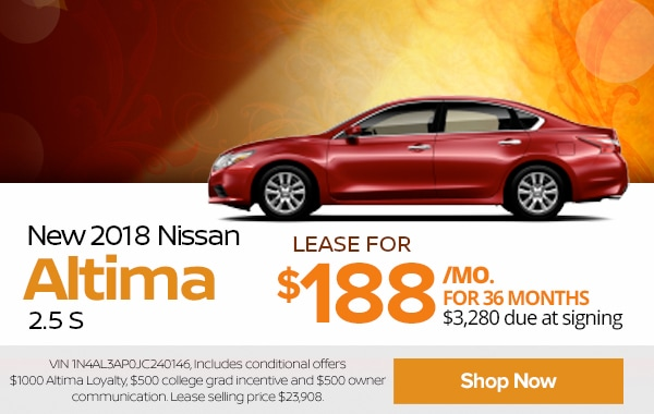 View New 2018 Nissan Altima Inventory