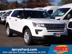 New 2019 Ford Explorer Base SUV 1FM5K8B87KGA45041 near Washington DC