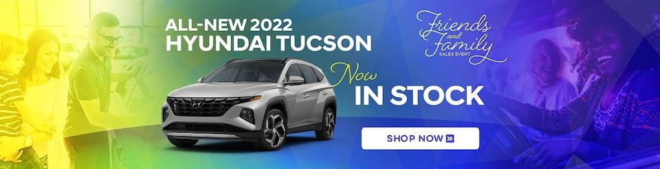 New 2022 Hyundai Tucson Now In Stock!