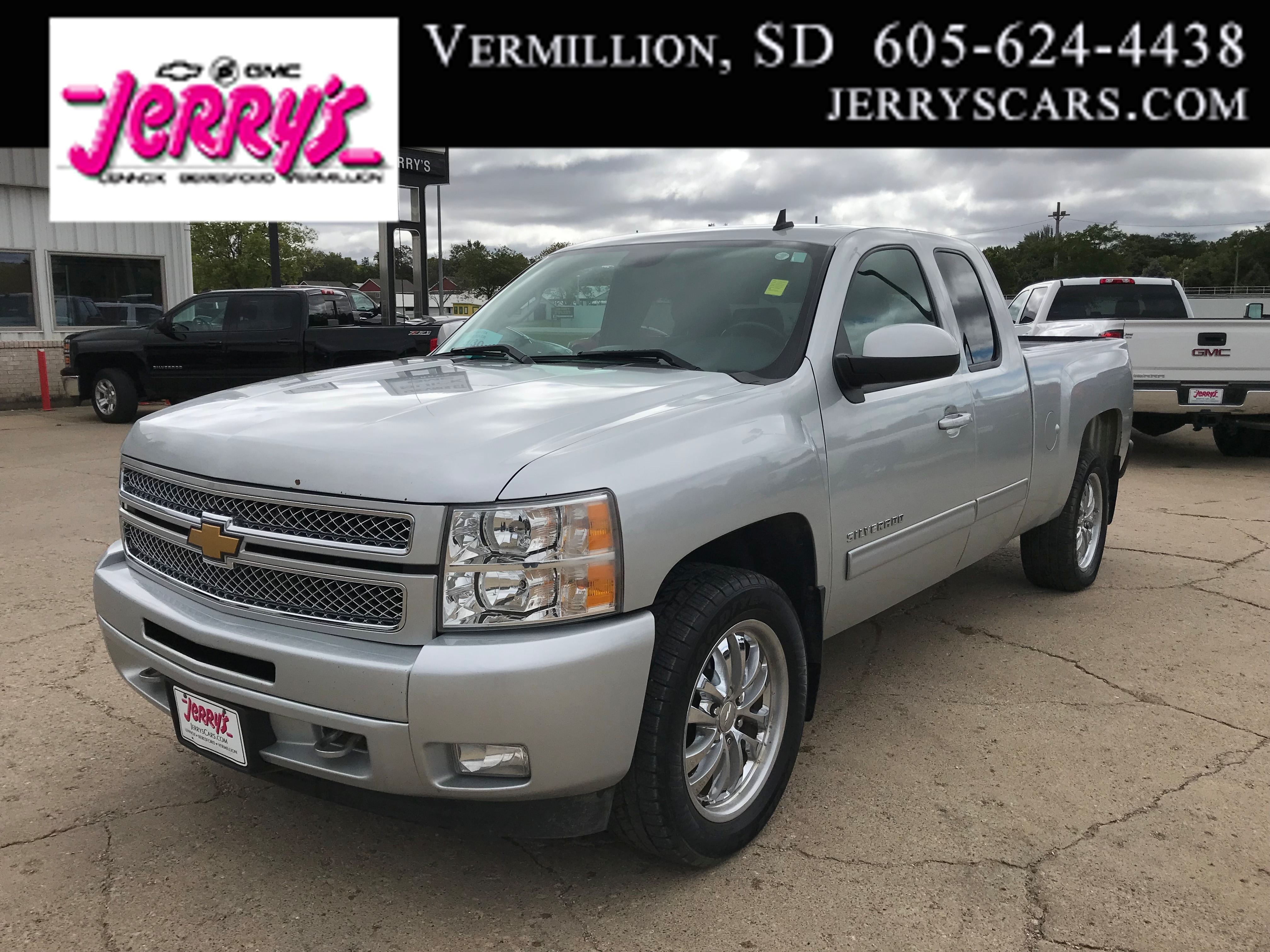 2013 Chevrolet Silverado 1500 LT 4X4 LEATHER Truck Extended Cab