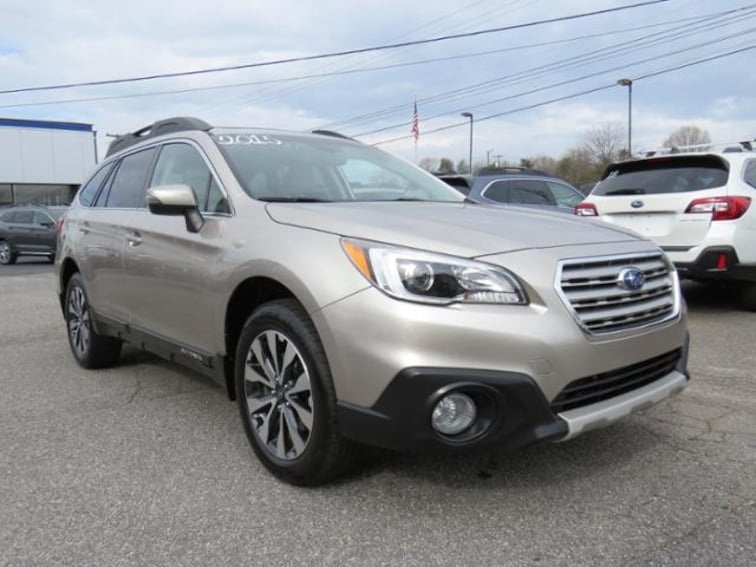 Used 2015 Subaru Outback 3.6R Limited Wagon 4S4BSENC2F3269865 in Hickory, NC