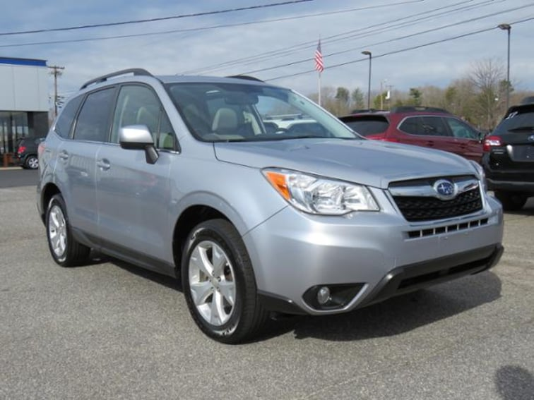 Used 2015 Subaru Forester CVT 2.5i Limited Pzev SUV JF2SJAHC2FH802118 in Hickory, NC