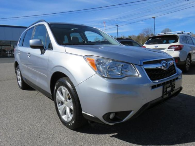 Used 2015 Subaru Forester CVT 2.5i Limited Pzev SUV JF2SJAHC6FH406886 in Hickory, NC