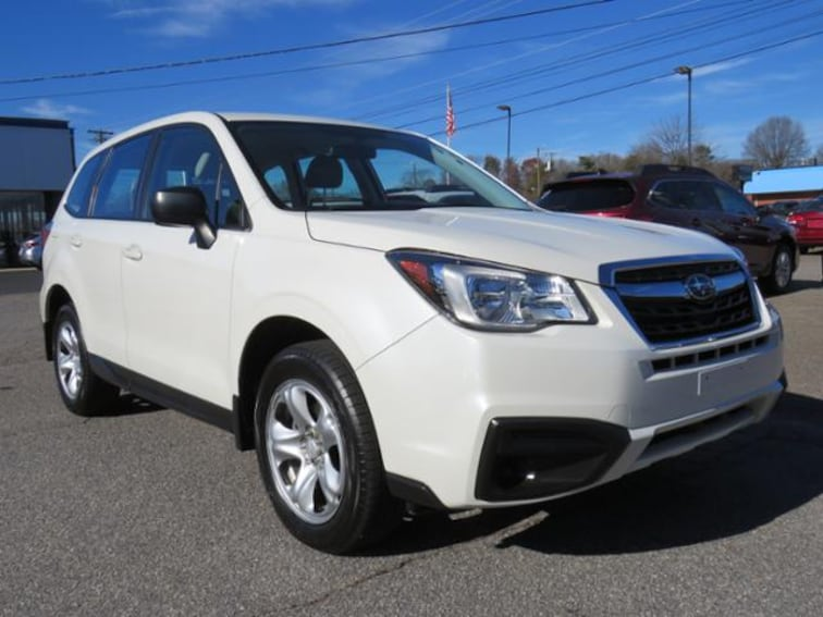 Used 2017 Subaru Forester 2.5i CVT SUV JF2SJAAC1HH409532 in Hickory, NC