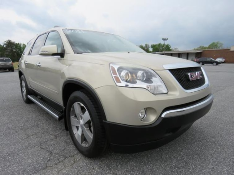 Used 2011 GMC Acadia FWD  SLT1 SUV 1GKKRRED3BJ110623 in Hickory, NC
