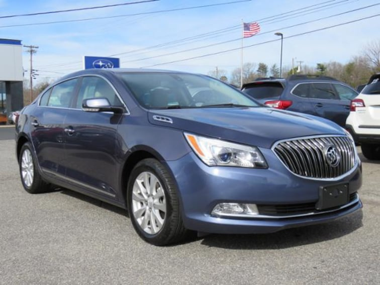 Used 2014 Buick Lacrosse Leather FWD Sedan 1G4GB5GR3EF261598 in Hickory, NC
