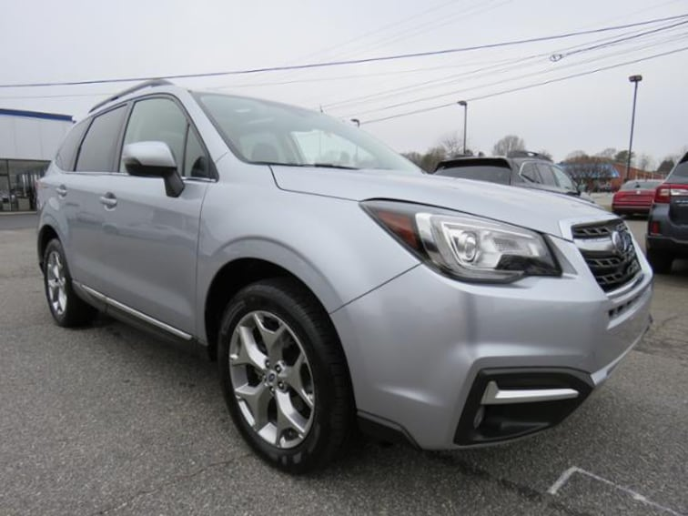 Used 2017 Subaru Forester 2.5i Touring CVT SUV JF2SJAWC5HH433065 in Hickory, NC