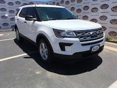 Used 2018 Ford Explorer Base SUV 1FM5K7B85JGA67418 in San Angelo, TX
