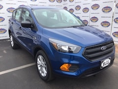New 2019 Ford Escape S SUV 1FMCU0F75KUA79257 in San Angelo. TX