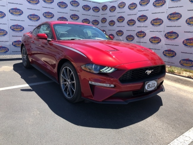 New 2019 Ford Mustang Ecoboost Premium Coupe in San Angelo. TX