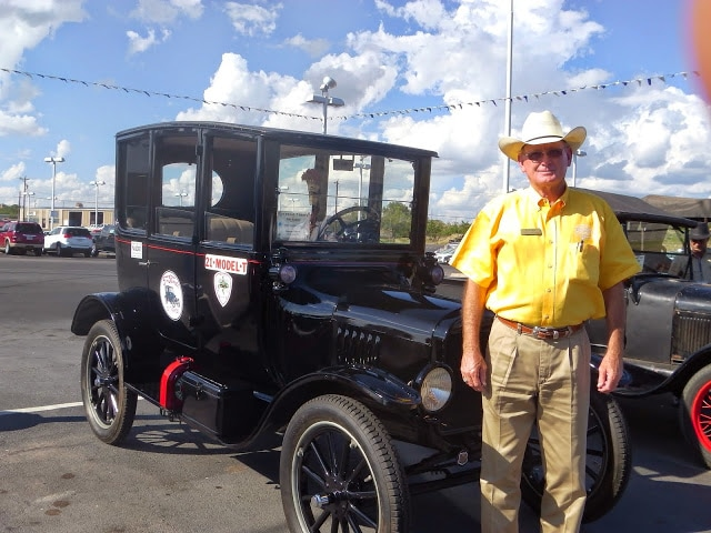 Model-T Convention San Angelo