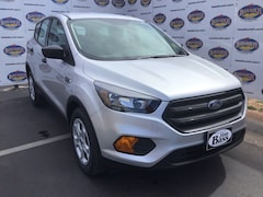 New 2019 Ford Escape S SUV 1FMCU0F78KUB26619 in San Angelo. TX