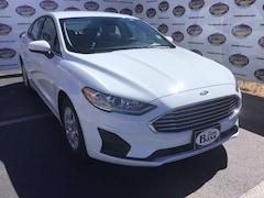 New 2019 Ford Fusion S Sedan 3FA6P0G79KR171427 in San Angelo. TX