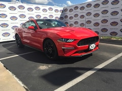 New 2019 Ford Mustang EcoBoost Coupe 1FA6P8TH9K5185649 in San Angelo. TX