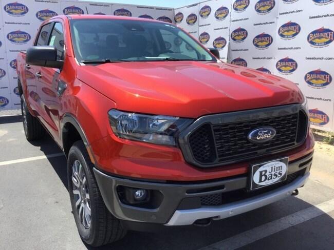 New 2019 Ford Ranger XLT Truck SuperCrew in San Angelo. TX