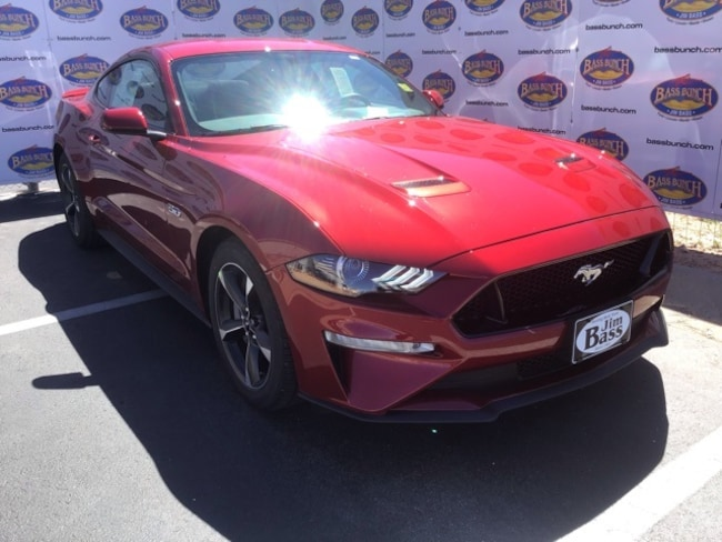 New 2019 Ford Mustang GT Coupe in San Angelo. TX