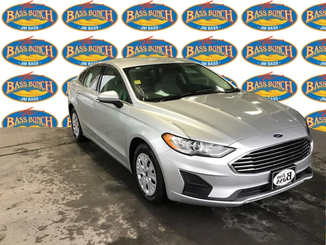New 2019 Ford Fusion S Sedan in San Angelo. TX