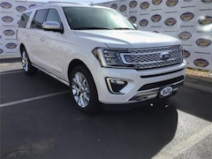 New 2019 Ford Expedition Max Platinum SUV 1FMJK1MT8KEA15405 in San Angelo. TX