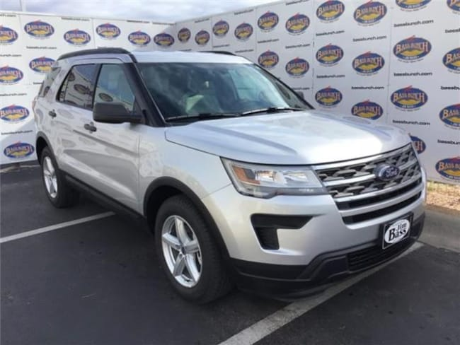 New 2019 Ford Explorer SUV in San Angelo. TX