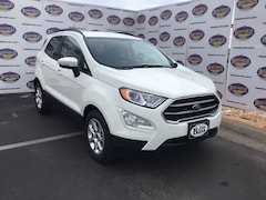 New 2019 Ford EcoSport SE Crossover MAJ3S2GE8KC262313 in San Angelo. TX