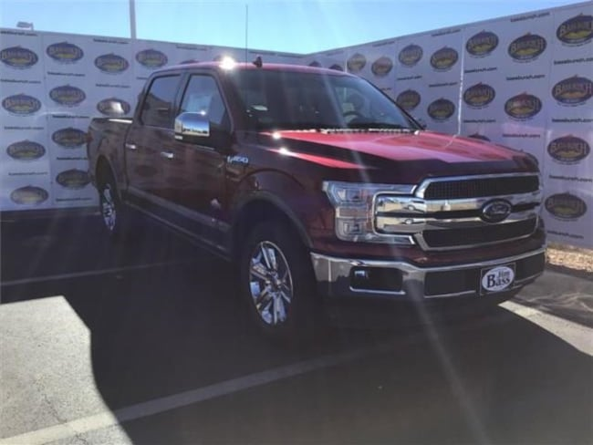 New 2019 Ford F-150 King Ranch Truck SuperCrew Cab in San Angelo. TX