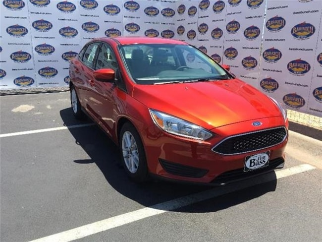 New 2018 Ford Focus SE Sedan in San Angelo. TX