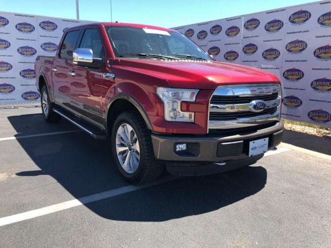 used 2015 Ford F-150 Lariat Truck in Sna Angelo TX