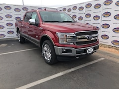 New 2019 Ford F-150 King Ranch Truck SuperCrew Cab 1FTEW1E46KFB03591 in San Angelo. TX